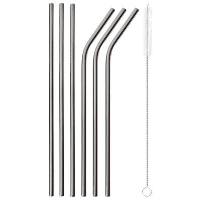 Straws with brush